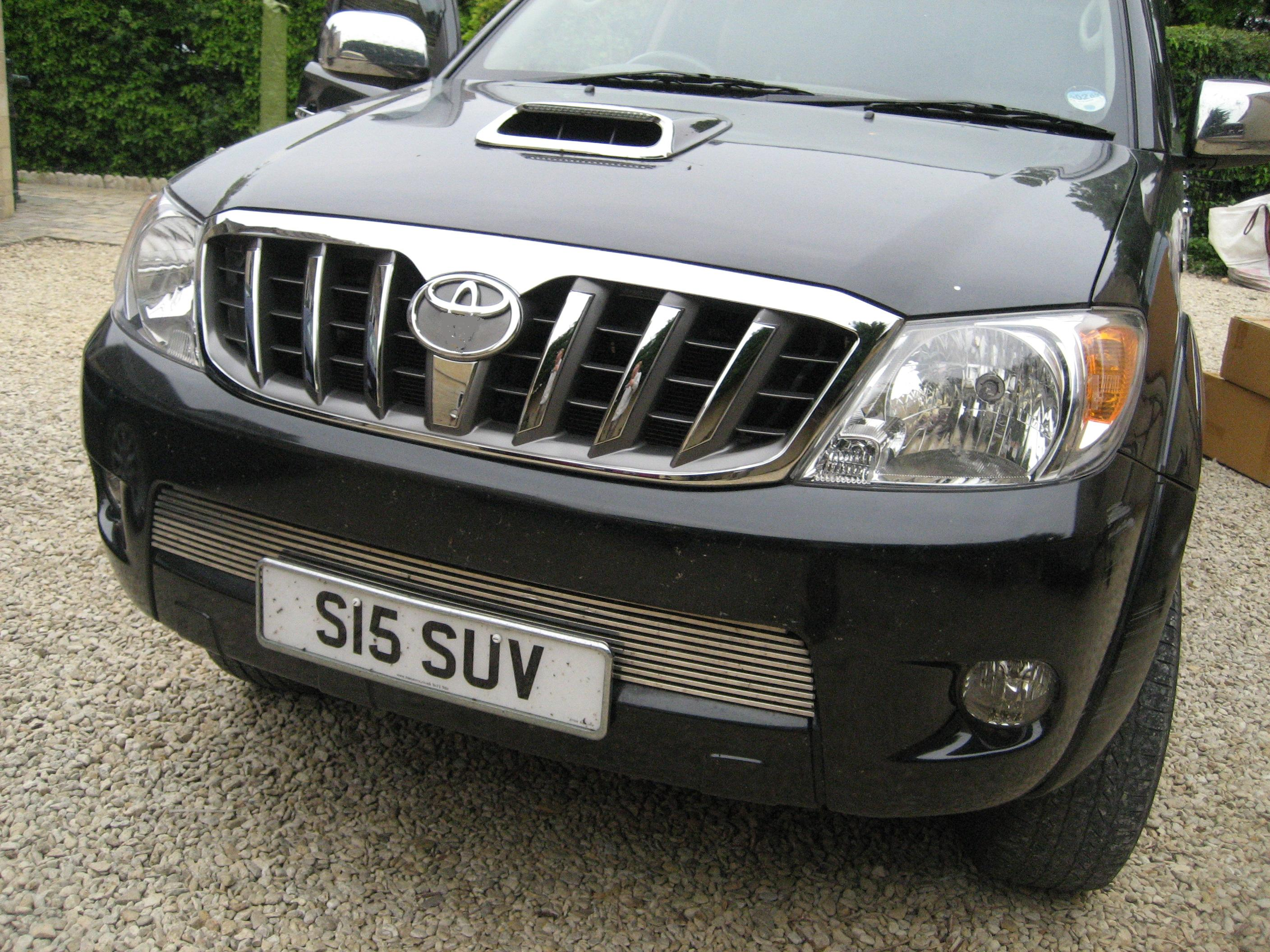 View Item Toyota Hilux Mk6 Chrome Prado Style Grille